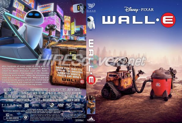 Walle movie dvd